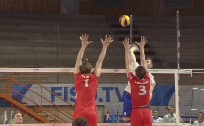 Skrót meczu Polska - Rosja w półfinale Uniwersjady