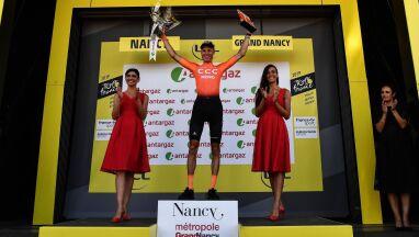 CCC Team znów na podium Tour de France. Akcja godna czerwonego numeru