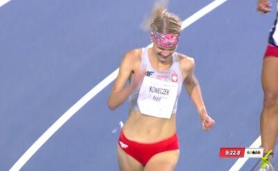 Złoty medal Konieczek w biegu przez przeszkody