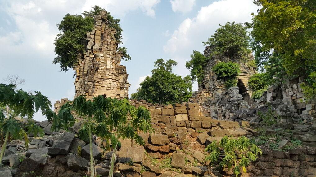 Pozostałości świątyni Banteay Top