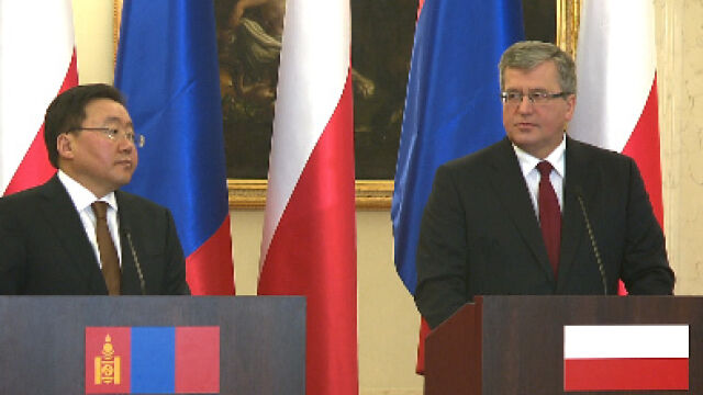 Polska chce do Mongolii
