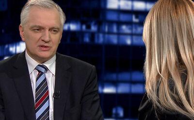 Jarosław Gowin: Nie jestem homofobem