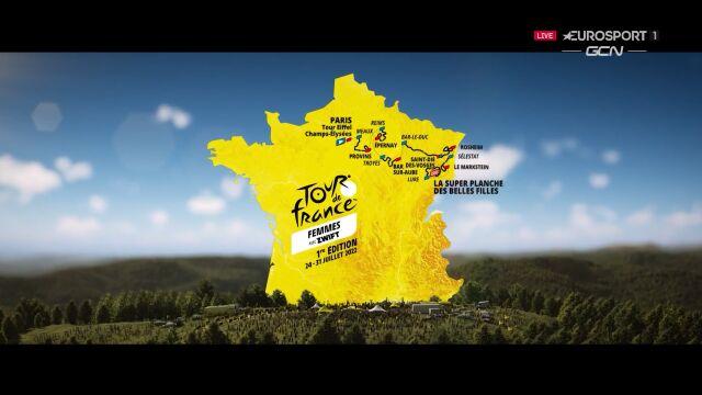 Trasa Tour de France 2022 kobiet