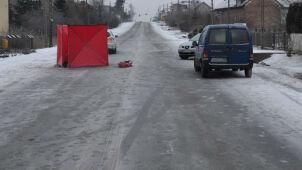 Po wypadku leżał na drodze.