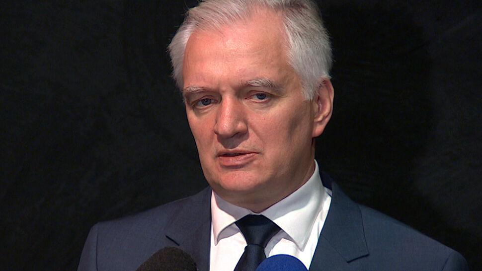 """Glapiński zalecał """"zimny prysznic"""".  Gowin: nie potrzebuję takich technik relaksacyjnych"""