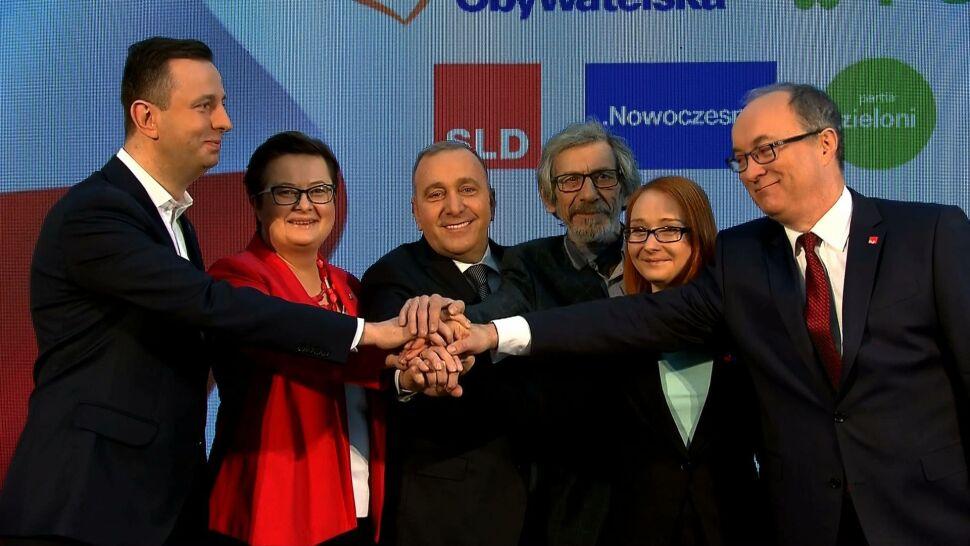 """Podpisy pod Koalicją Europejską złożone. """"Międolenie się skończyło"""""""
