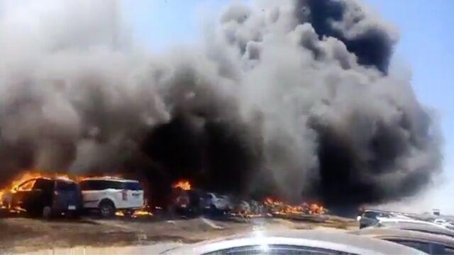 Pożar podczas air show w Indiach