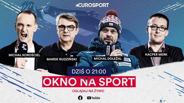 """Trener skoczków Michal Doleżal o godzinie 21 gościem """"Okna na sport"""""""