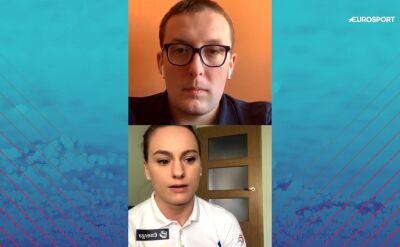 Joanna Łochowska o treningach w domu i mistrzostwach Europy