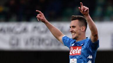 Trener Napoli chwali Milika.