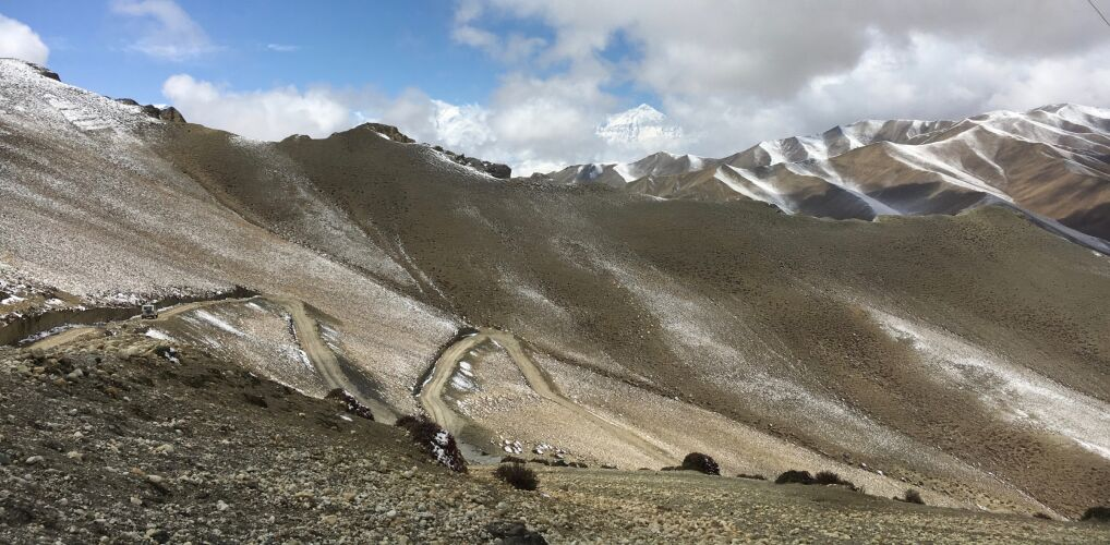 Droga do stolicy Mustangu, miasta Lo Manthang