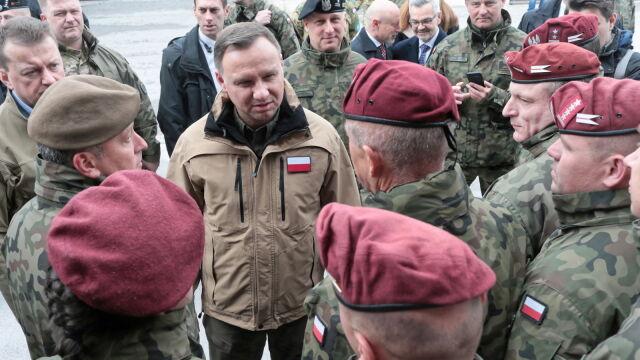Prezydent u polskich żołnierzy stacjonujących w Bośni i Hercegowinie