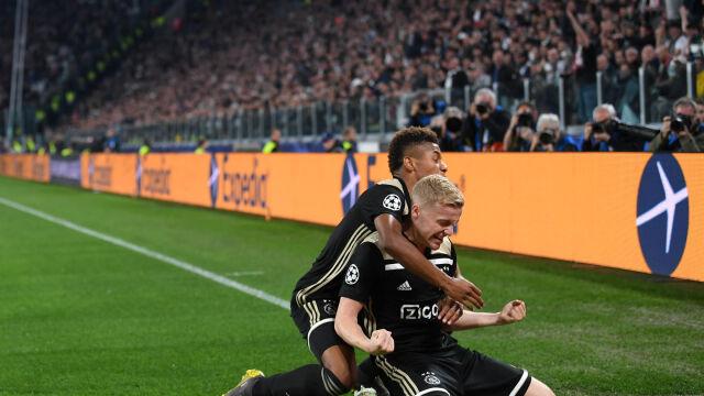 Najpierw Real, teraz Juventus. Ajax wyeliminował kolejnego faworyta
