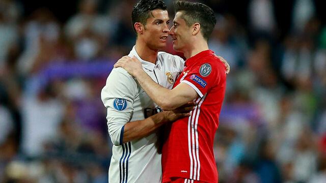 7198e3db3 Namawiał go nawet Ronaldo. Real wciąż kusi Lewandowskiego ...