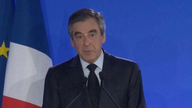 Fillon: będę głosować na Emmanuela Macrona