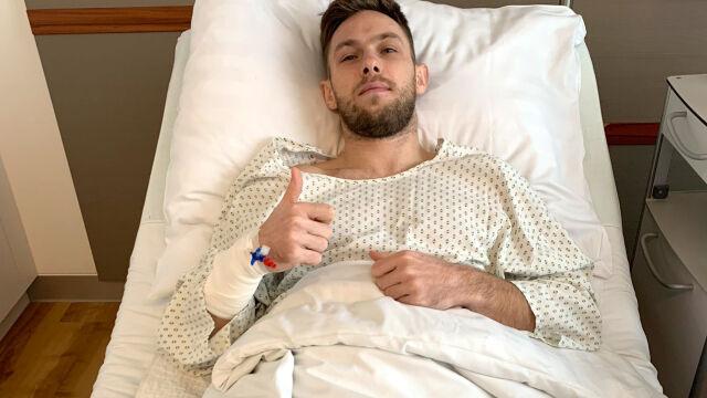 Maciej Rybus przeszedł długo wyczekiwaną operację