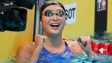Białaczka pokonana, pływaczka myśli o igrzyskach.