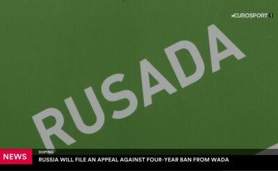 Rosja nie odpuszcza. Do CAS trafi odwołanie od zawieszenia nałożonego przez WADA