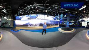 Studio TVN24 w 360 stopniach! Zapraszamy  na wycieczkę za kulisy. #15latTVN24