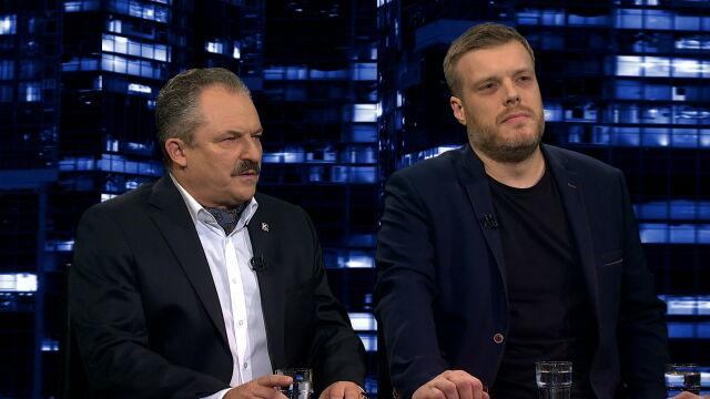 """Marek Jakubiak i Adrian Zandberg byli gośćmi """"Kropki nad i"""""""