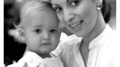 Sabina Baral z córeczką