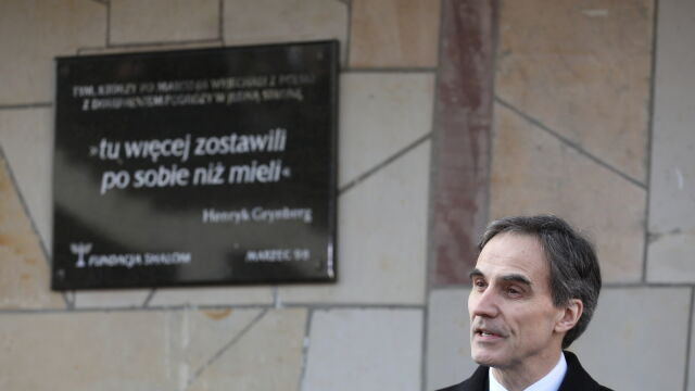 Jones: Marzec'68 to bolesny rozdział w historii Polski