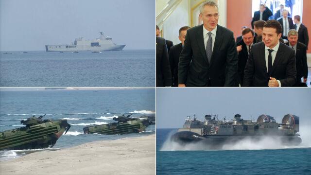"""Wicepremier Ukrainy zapowiada """"wielkie ćwiczenia"""" NATO na Morzu Czarnym"""