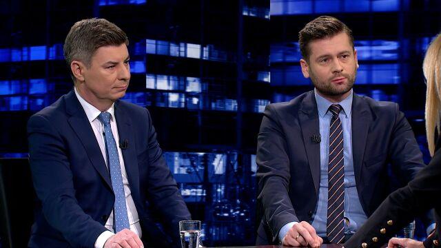 """Kamil Bortniczuk i Jan Grabiec w """"Kropce nad i"""""""