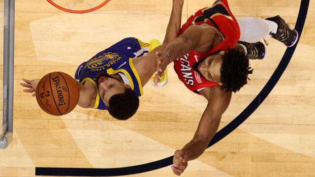 Wojownicy doczekali się zwycięstwa. Curry'emu stuknęło dziesięć lat