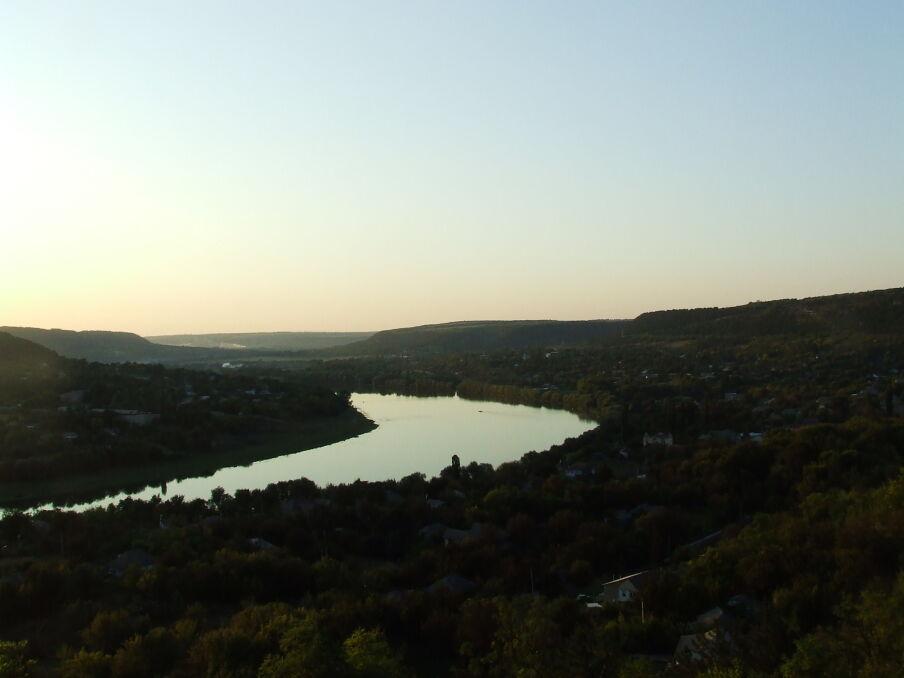 Dniestr w Raszkowie, granica między Naddniestrzem i Mołdawią