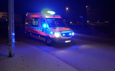 11-letnia dziewczynka została potrącona przez bus w miejscowości Borówno