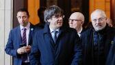 Przesłuchanie byłego premiera Katalonii przełożone przez sąd w Brukseli