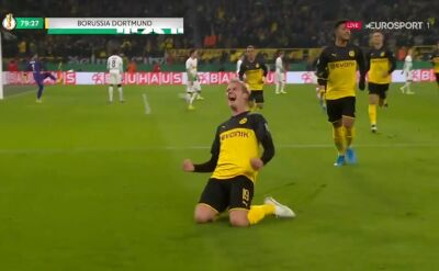 Brandt bohaterem BVB. Dwa gole, które dały awans do 3. rundy Pucharu Niemiec
