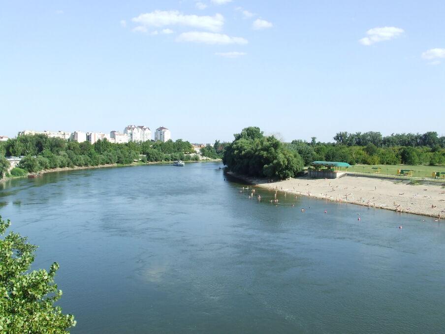 Koryto Dniestru w stolicy