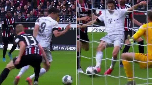"""Efektowny obrót, wyprzedzenie i wykończenie. """"Nieprawdopodobny gol"""" Lewandowskiego"""