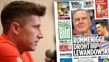 Szef Bayernu grozi Lewandowskiemu.