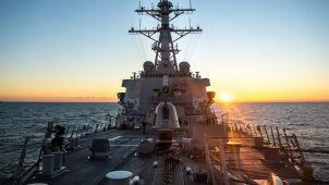 Amerykański okręt wpłynął do portu w Odessie