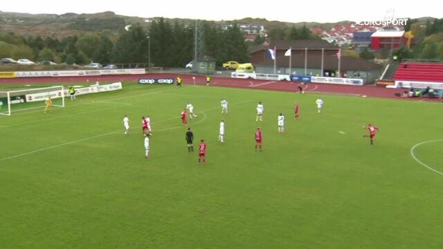 Kosmiczny gol z rzutu wolnego w 2. lidze norweskiej