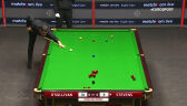 Fantastyczne wbicie Stevensa w starciu z O'Sullivanem w 3. rundzie English Open