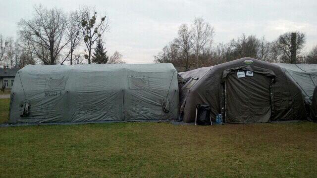 Elitarni antyterroryści zakwaterowani w namiotach