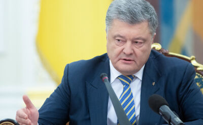 Poroszenko podpisał dekret o wprowadzeniu stanu wojennego