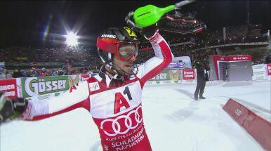 Hirscher triumfatorem slalomu w Schladming