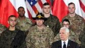 Pence: Stany Zjednoczone stoją ramię w ramię z Polską