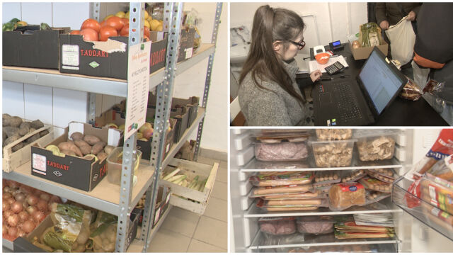 The first communal store in Gdańsk has been opened