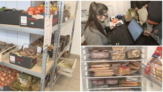 """Pierwszy w Gdańsku sklep społeczny dla potrzebujących. """"Tu klienci nie płacą za jedzenie"""""""