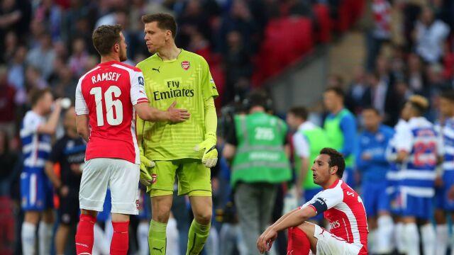 """Szczęsny zajmie się Ramseyem w Juventusie. """"Ja pomogę mu, a on nam pomoże zdobywać trofea"""""""
