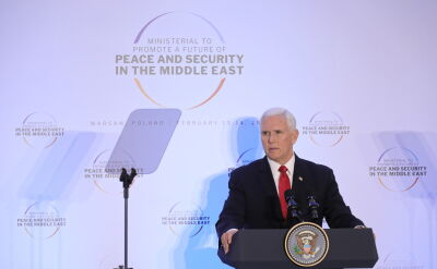 Pence: Stany Zjednoczone są gotowe, aby pracować i odpowiedzieć na to wielkie wyzwanie i skorzystać ze wspólnej szansy na pokój