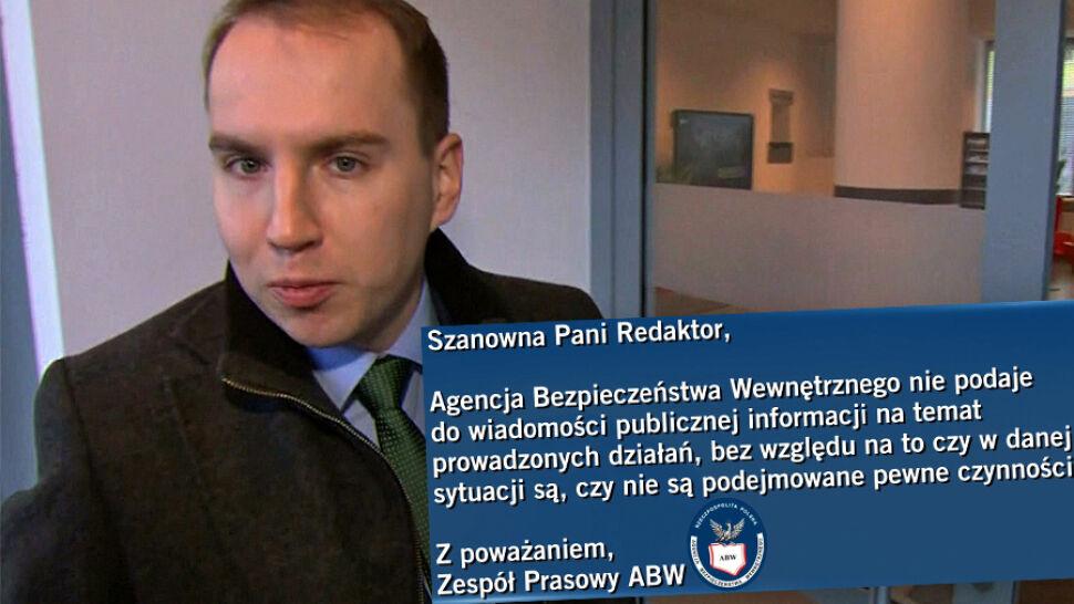 Pytania do ABW o sprawdzenie Andruszkiewicza. Jest odpowiedź
