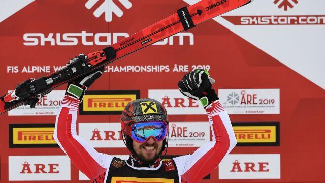Udany rewanż Hirschera za gigant, podium slalomu dla Austrii