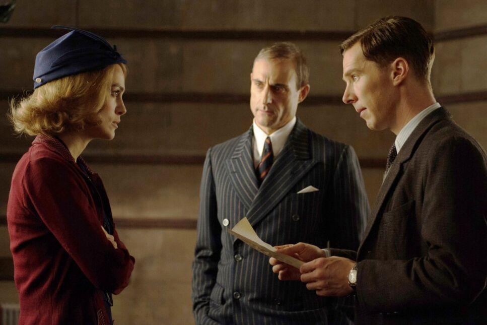 Keira Knightley, Mark Strong i Benedict Cumberbatch